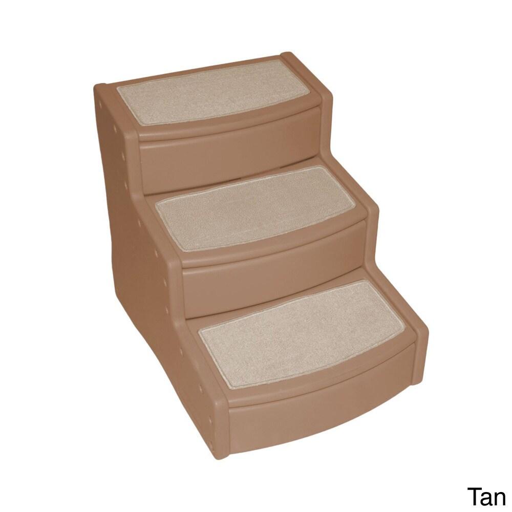 Pet Gear Extra Wide Easy Step III Pet Stair (Tan), Brown