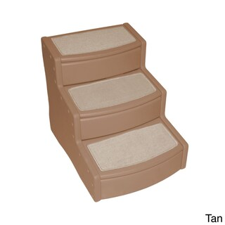 Pet Gear Extra Wide Easy Step III Pet Stair (Option: Tan)