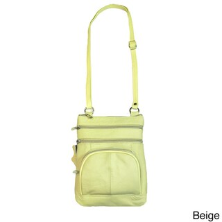 Hollywood Tag Large Travel Pouch Messenger (Option: Ivory)