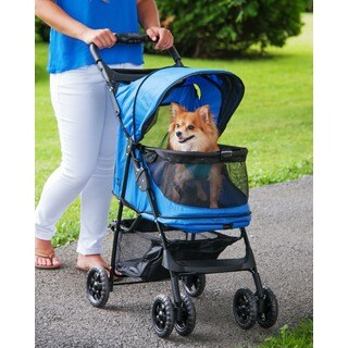Pet Gear Happy Trails No-zip Pet Stroller (3 options available)