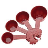 Paula Deen Signature Pantryware 4-piece Red Measuring Cups Set