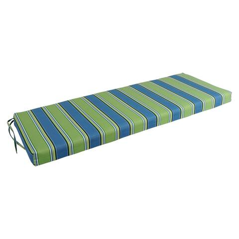 Blazing Needles 54-inch All-Weather Bench Cushion