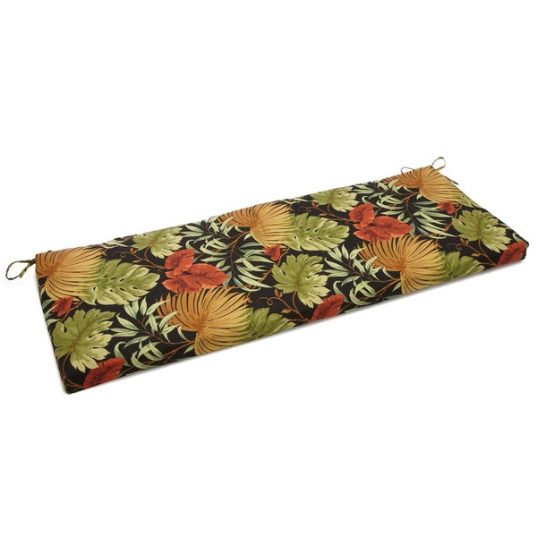 Shop Blazing Needles 54 Inch Designer Bench Cushion On Sale Free Shipping Today Overstock