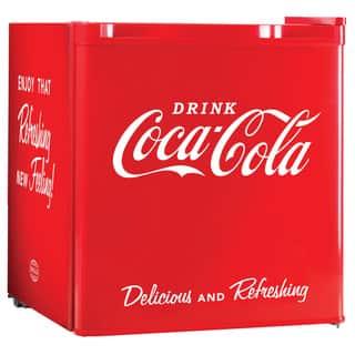 Nostalgia Electrics Coca-Cola Series CRF170COKE 20.4-inch Mini Fridge|https://ak1.ostkcdn.com/images/products/8366405/P15673077.jpg?impolicy=medium