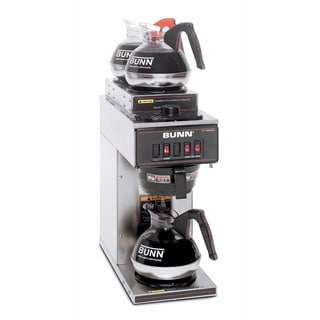 Bunn Coffee Maker Overstock : BUNN VP17-3 SS Pourover Commercial Coffee Brewer - Free Shipping Today - Overstock.com - 15673086
