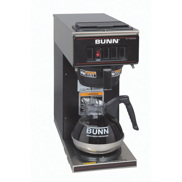 Bunn Coffee Maker Overstock : BUNN VP17-1 BLK Pourover Coffee Brewer - Free Shipping Today - Overstock.com - 15673094