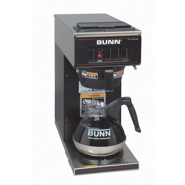 Bunn Coffee Maker Wonot Brew : BUNN VP17-1 BLK Pourover Coffee Brewer - Free Shipping Today - Overstock.com - 15673094