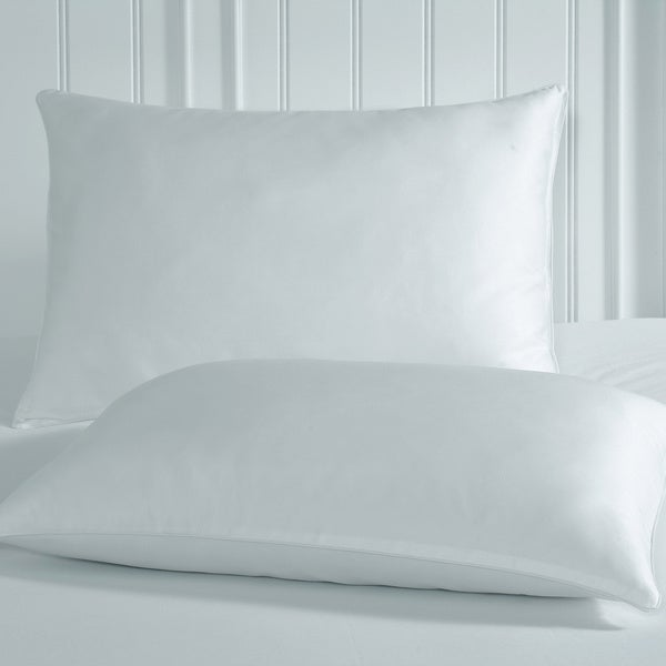 Rest Remedy Luxury White Anti-static Spa Pillow Protector (Set of 2)