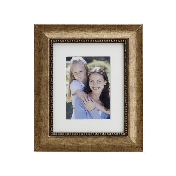 melannco 16x20 inch antique gold photo frame