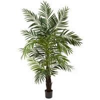 Nearly Natural 6-foot Areca Palm Tree Decorative Plant
