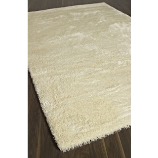 Labrador Cream Cream Abstract Area Shag (6'7 x 9'6)