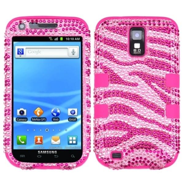INSTEN Diamante TUFF Hybrid Phone Case Cover for Samsung T989 Galaxy S2 S II