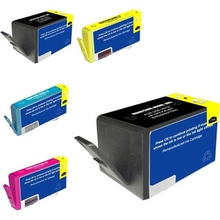 Insten Black Remanufactured Ink Cartridge Replacement for HP