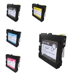 INSTEN Ricoh GC31/ GC31H Inkjet 5-ink Cartridge Set