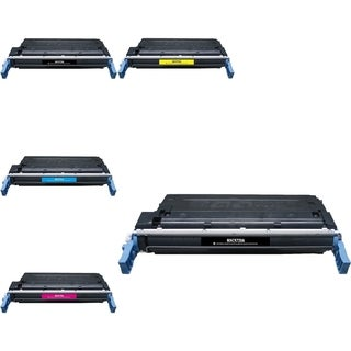 INSTEN HP C9720A/ CLJ4600/ CLJ4650 5-ink Cartridge Set