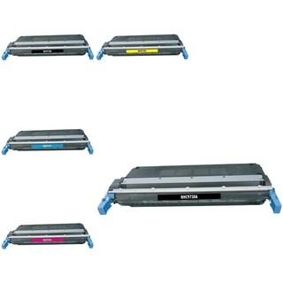 INSTEN HP C9730A/ CLJ5500/ CLJ5500 5-ink Cartridge Set
