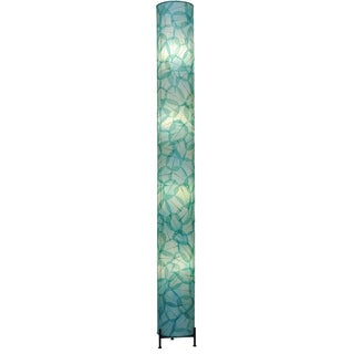 Eangee Sea Blue Banyan 4-light Giant Floor Lamp