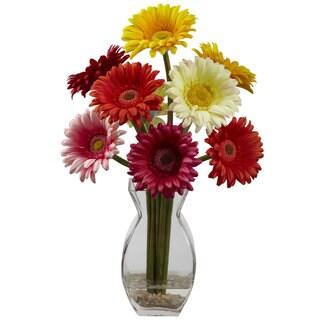 Gerber Daisy and Vase Arrangement