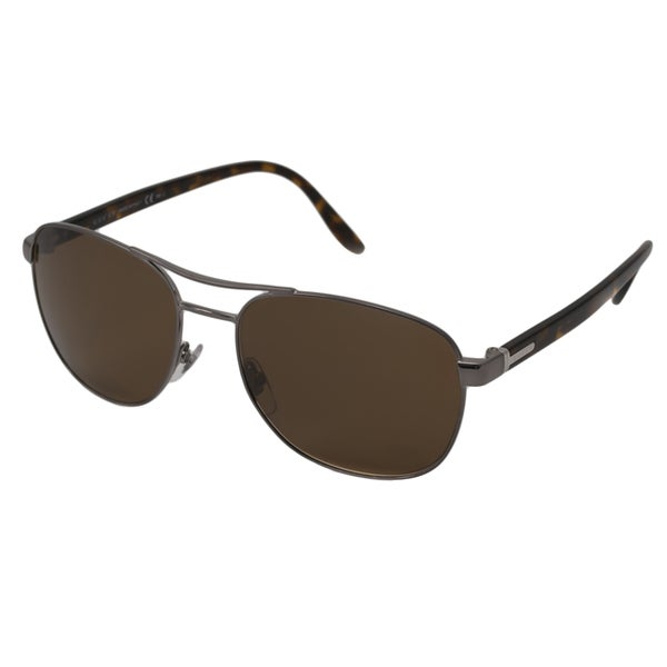 Gucci Men's GG2220 Polarized/ Aviator Sunglasses