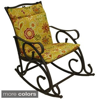 Blazing Needles Outdoor Single Chair Cushion