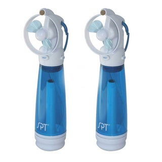 SPT Personal Hand-held Misting Fans (Set of 2)