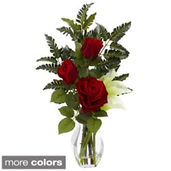 Rose and Calla Lily Floral Arrangement