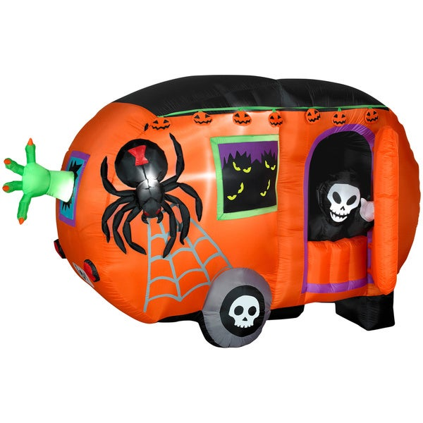 Shop Animated Airblown Halloween Camper Free Shipping