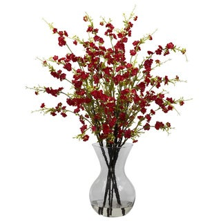 Link to Cherry Blossoms and Vase Floral Arrangement Similar Items in Decorative Accessories