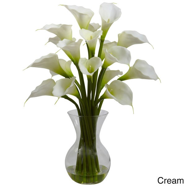 Shop Cabinet Hardware Galla Calla Lily And Vase Floral Arrangement