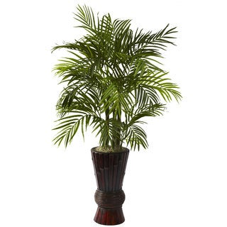 4-foot Areca and Bamboo Planter