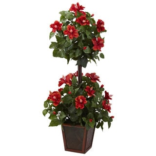 39-inch Hibiscus Topiary