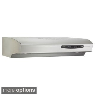 Broan QS130 Allure Series 30-inch 220 CFM Under Cabinet Hood
