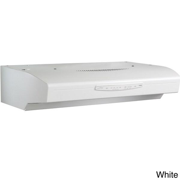 broan qs330 allure series 30 inch under cabinet 430 cfm range hood 15675175. Black Bedroom Furniture Sets. Home Design Ideas