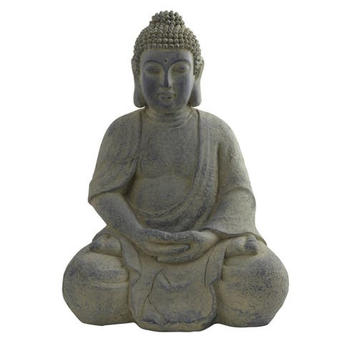 Nearly Natural Buddha Lotus Pose Indoor/ Outdoor Statue