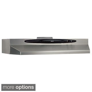 Broan QT230 Series 30 inch Under Cabinet 200 CFM Range Hood P15675177 broan evolution 2 series 30 inch stainless steel under cabinet  at aneh.co