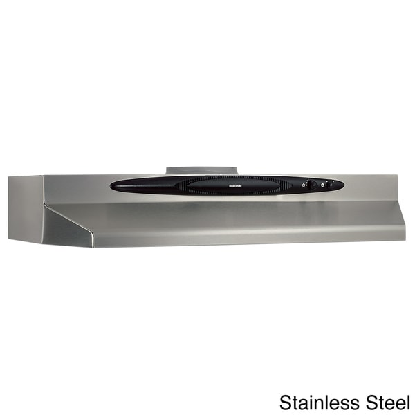 Charmant Broan QT230 Series 30 Inch Under Cabinet 200 CFM Range Hood