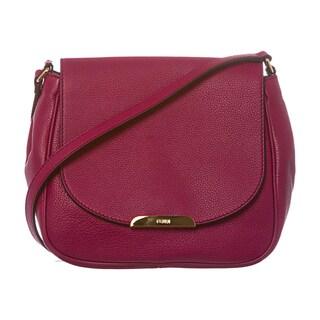 Fendi Pebbled Leather Crossbody Bag