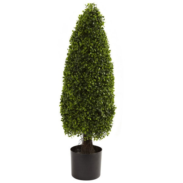 Nearly Natural 3 Foot Boxwood Decorative Plant