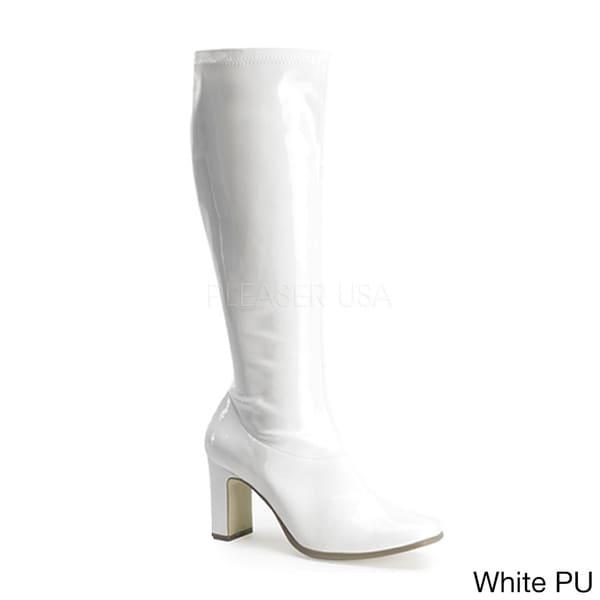347e2ed8d1c9 Funtasma Kiki Women  x27 s 3.25-inch Chunky Heel Knee High Gogo Boots
