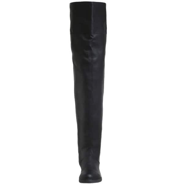 aa625e472c9 Shop Pleaser Maverick Men's Pig Leather Thigh High Boots - Free ...