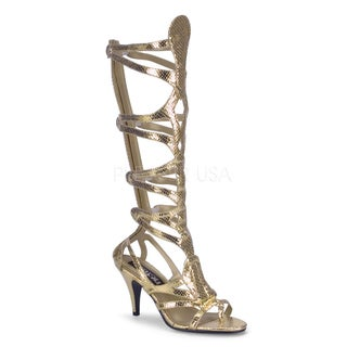 Funtasma Women's 'Goddess-12' Gold Egyptian Sandals
