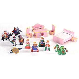 Castle Doll House 16-Piece Accessory Set