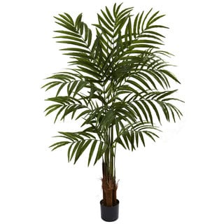 Nearly Natural 5-foot Big Palm Tree Decorative Plant