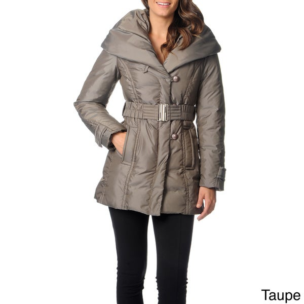 Ivanka Trump Women's Down Hooded Jacket