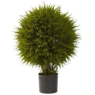 32-inch Cedar Ball Topiary