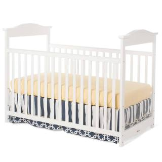 Foundations The Princeton Clear Choice Full Size Crib in White