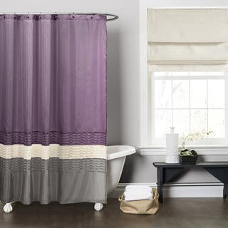 Buy Purple Shower Curtains Online at Overstock.com   Our Best Shower ...