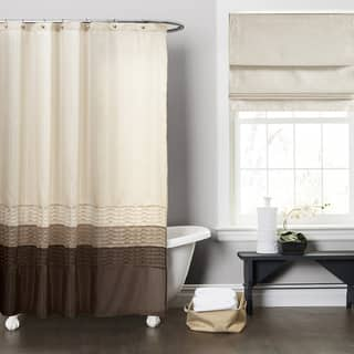chocolate coral and gold shower curtain. Lush Decor Mia Wheat  Taupe Chocolate Shower Curtain Brown Curtains For Less Overstock com Vibrant Fabric