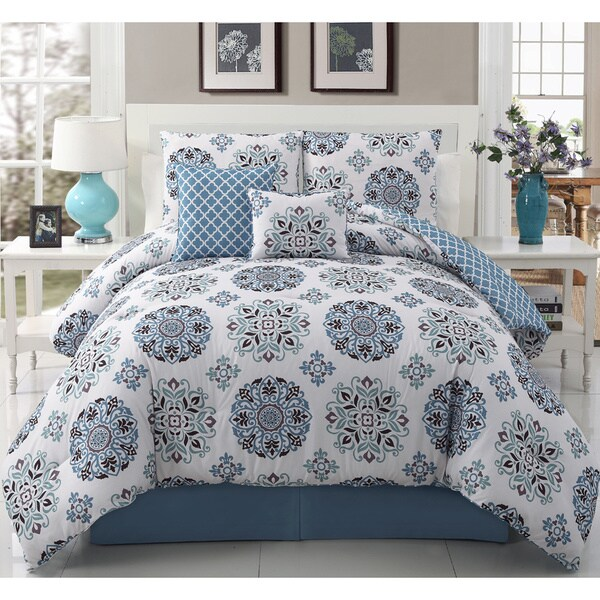 VCNY Marisol 5-piece Reversible Comforter Set