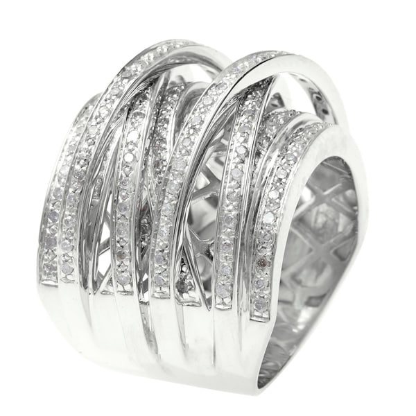 designs engagement jewelry rings trellis crossover ring